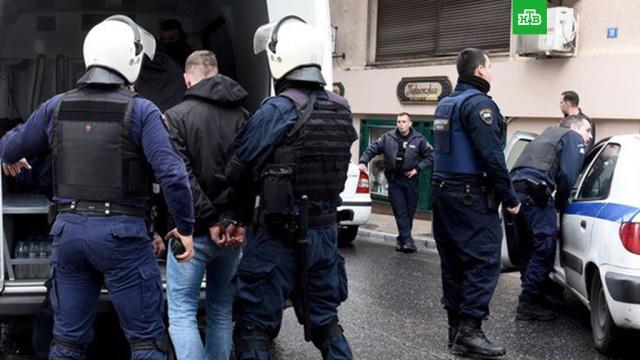 украинские фанаты разгромили кафе россиянами афинах