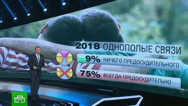 Опрос: более половины россиян осуждают измены и гей-браки