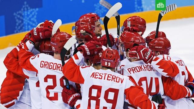 Российские хоккеисты обыграли чехов и вышли в финал Олимпиады