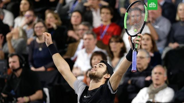Российский теннисист Хачанов выиграл турнир в Марселе