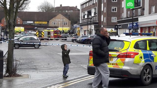 На севере Лондона прогремел взрыв