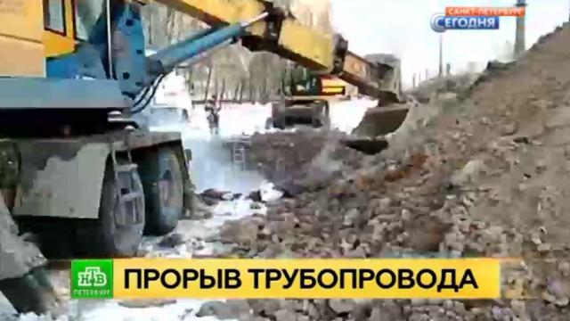 Тысячи петербуржцев остались без тепла из-за коммунальной аварии