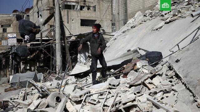 Боевики обстреляли из минометов жилые кварталы Дамаска