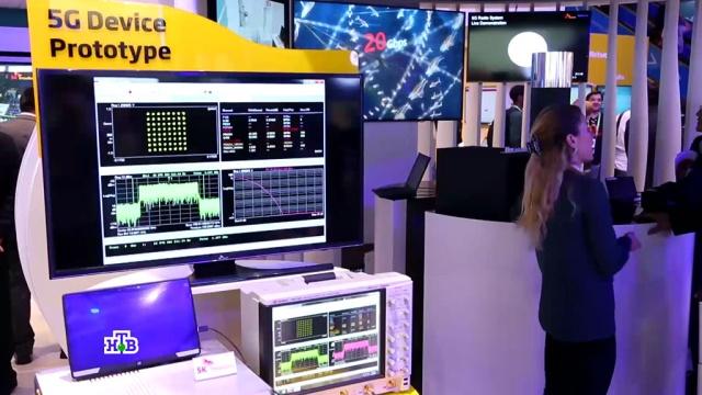 Технология 5G и складные смартфоны: в Барселоне показали новинки электроники