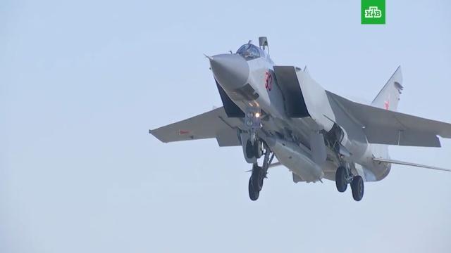 Минобороны РФ опубликовало видео пуска гиперзвуковой ракеты комплекса Кинжал