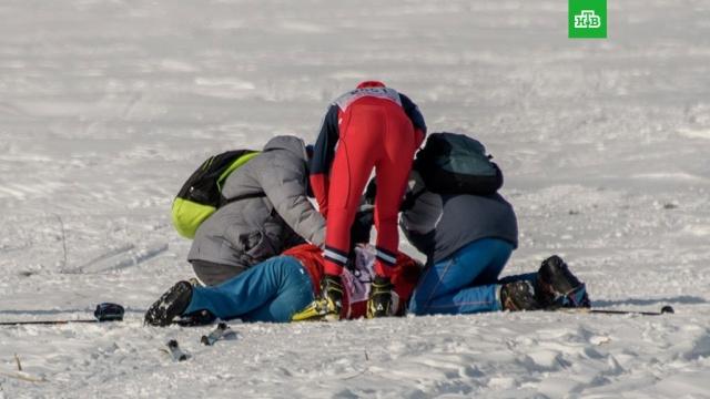 Спортсмен умер во время забега на Лыжне России под Челябинском