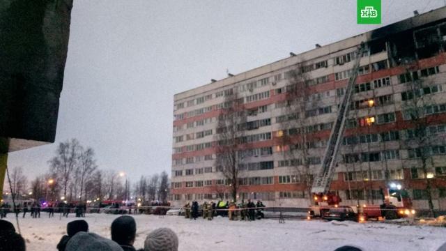 На месте взрыва в петербургской многоэтажке завершены поисково-спасательные работы