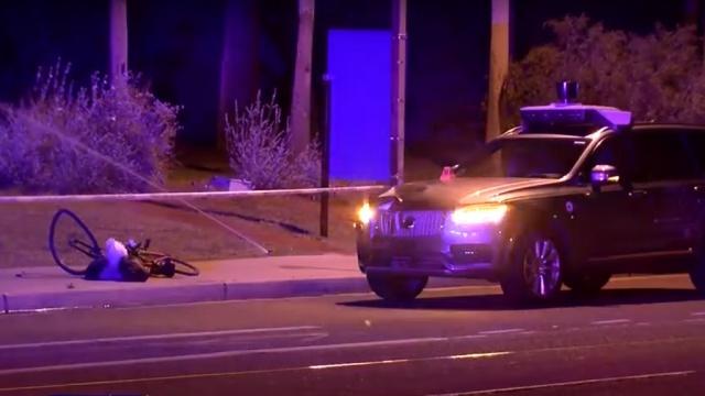 автомобиль uber режиме автопилота насмерть сбил женщину сша