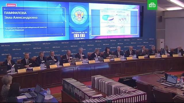 ЦИК назвал итоговую явку на президентских выборах