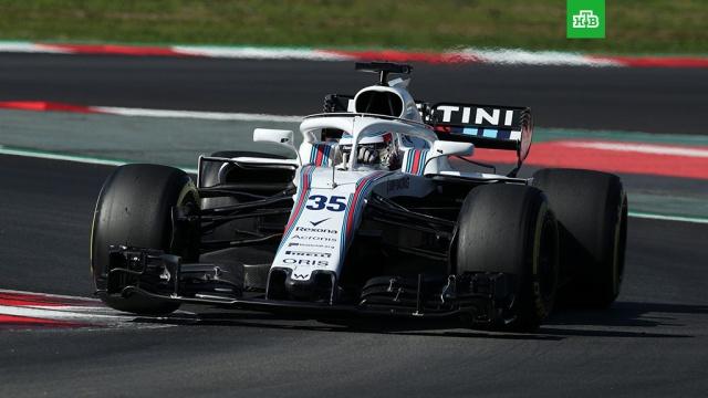 Сироткин сошел с трассы в дебютной гонке в Формуле-1