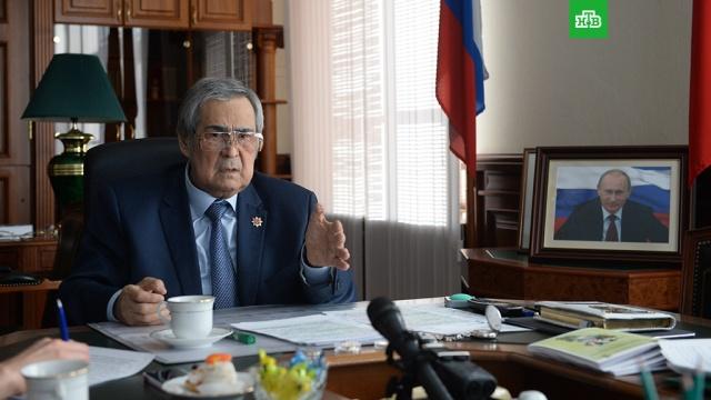 Путин принял отставку Тулеева с поста губернатора Кемеровской области