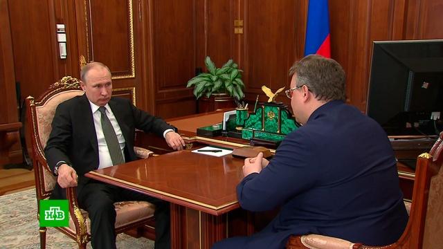Глава Ставрополья доложил Путину о реализации его послания Федеральному собранию
