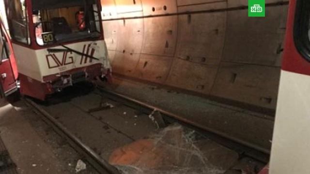 поезда метро столкнулись западе германии пострадавшие