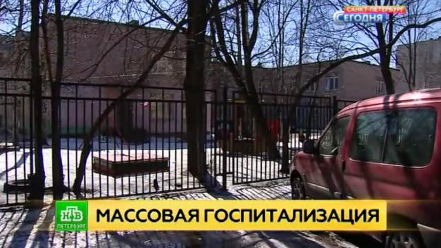 прокуратура петербурга проводит проверку массового отравления детском саду