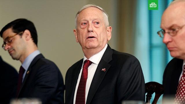 СМИ: глава Пентагона отменил все поездки в связи с обстановкой вокруг Сирии