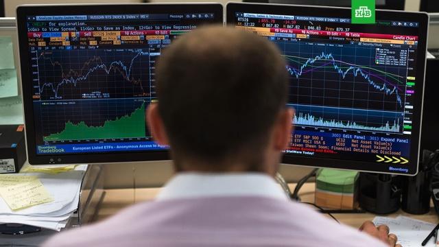 Рынок акций РФ на треть отыграл потери после обвала в черный понедельник