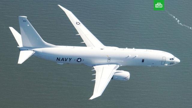 Самолет ВМС США заметили у российских баз в Сирии