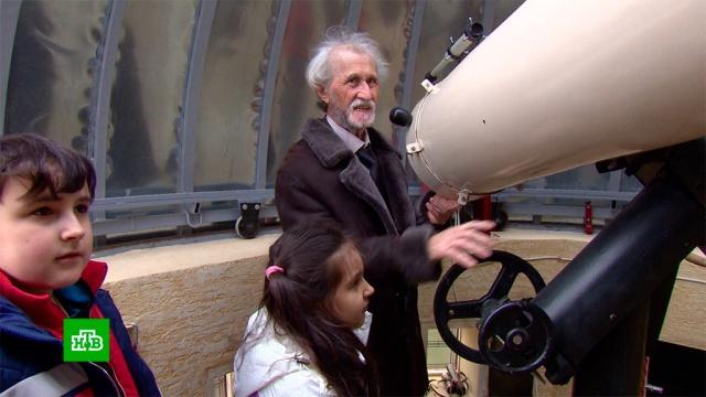 пенсионер карачаево-черкесии дворе собрал телескоп обсерватории