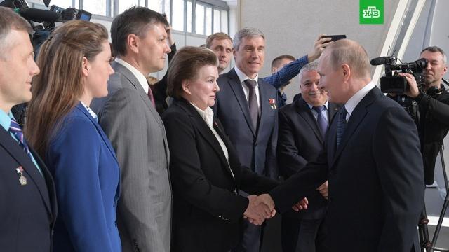 На Луну? Полетим!: Путин встретился с космонавтами на ВДНХ