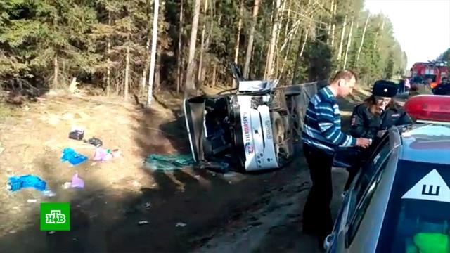 Следователи допросили директора турфирмы, чей автобус перевернулся в Подмосковье