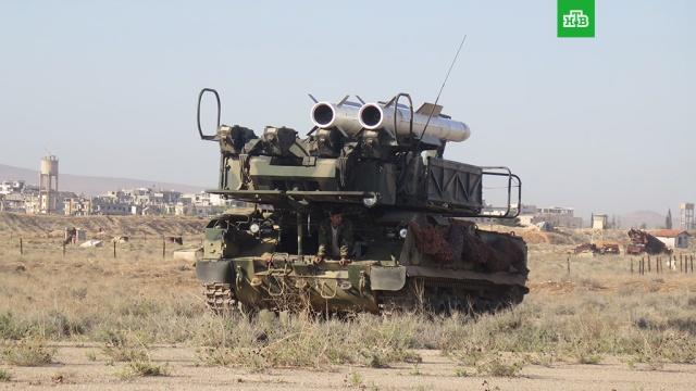 Бук против крылатых ракет: опубликованы кадры аэродрома Меззе после удара коалиции
