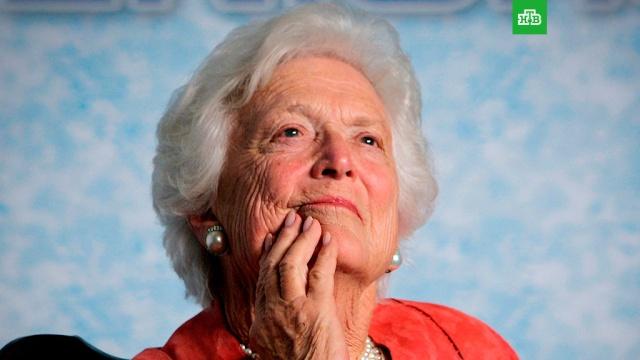 американский телеканал ошибке опубликовал некролог жены буша-старшего