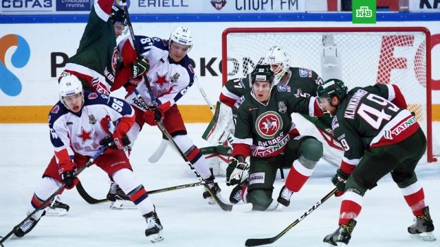 Ак Барс одержал вторую победу над ЦСКА в финальной серии Кубка Гагарина