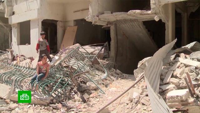 В Думе идут бои между войсками Асада и боевиками
