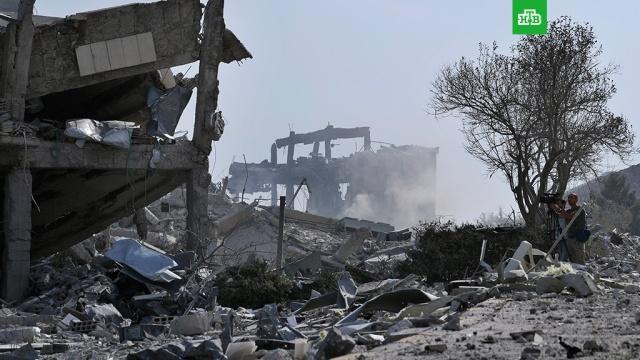 Посольство РФ: заявления о безальтернативности ударов по Сирии лицемерны