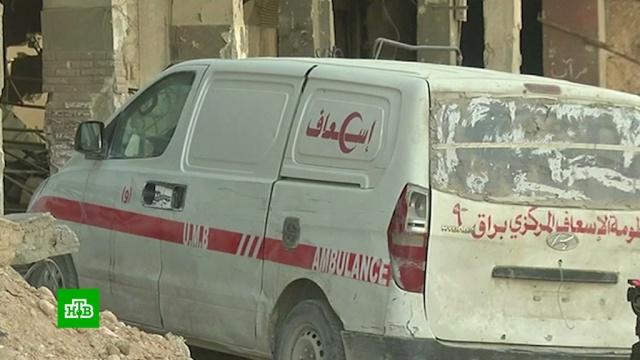 В инсценировках химатаки в Сирии участвовали работники скорой помощи