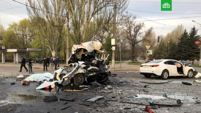 Легковушка протаранила маршрутку и автобус в Кривом Роге: 8 погибших, 18 раненых