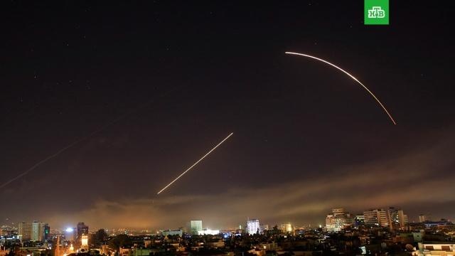 СМИ: силы ПВО Сирии сбили ракеты в районе Хомса