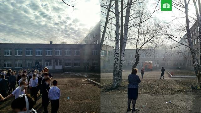 Подросток устроил резню и пожар в школе в Стерлитамаке