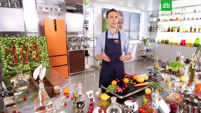 Зрители НТВ увидят 100-й выпуск программы Еда живая и мертвая