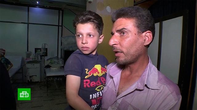"Отец сирийского мальчика Хасана рассказал НТВ о съемках ""химатаки"" в Думе"