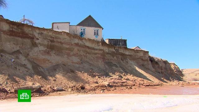 поселок волгоградской области уйти воду разрушения берега
