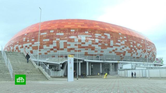 Стадион Мордовия Арена в Саранске принял тестовый матч