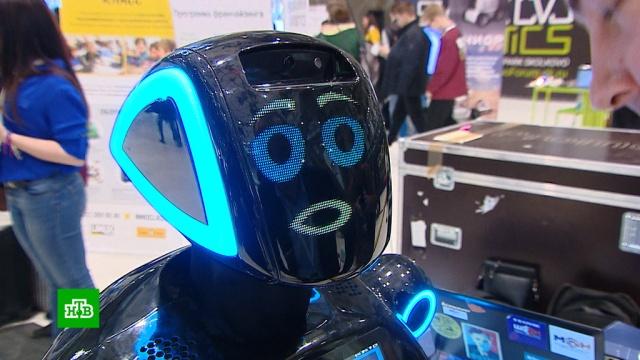 """На форуме в """"Сколково"""" показали уникальных роботов со всего мира"""
