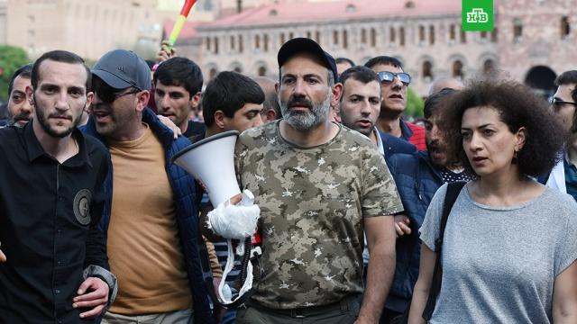 Лидер оппозиции Пашинян заявил о готовности стать премьером Армении