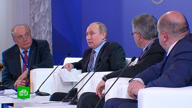 Путин рассказал, кто создал новейшую систему вооружений