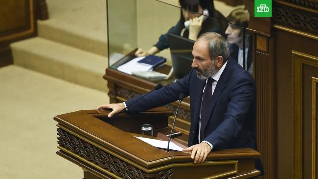 Пашинян исключил сценарий насильственной борьбы за власть в Армении