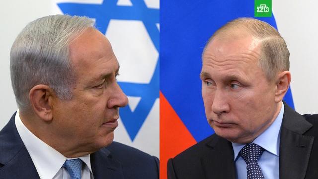 Путин и Нетаньяху встретятся в Москве 9 мая