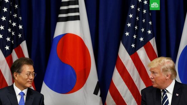 трамп обсудит президентом южной кореи предстоящую встречу ким