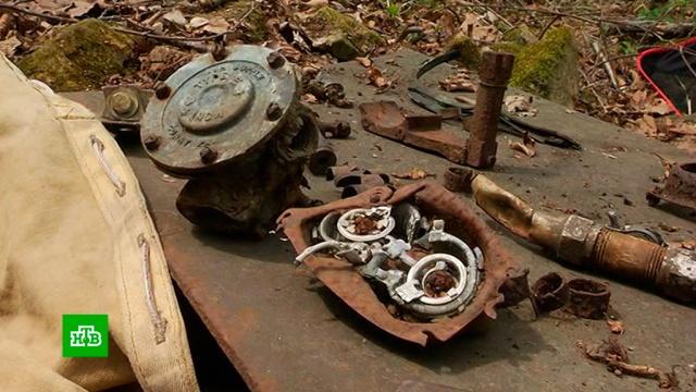 Находки на месте падения самолетов в годы войны в Приморье удивили активистов из США