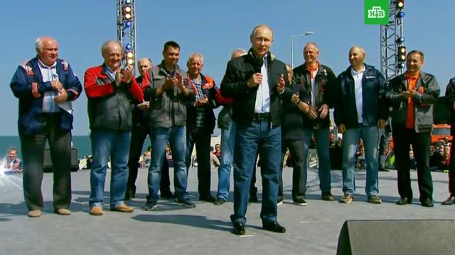 Чудо свершилось: Путин назвал историческим событием открытие Крымского моста
