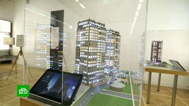 архитекторы представили проекты кварталов реновации выставке москве