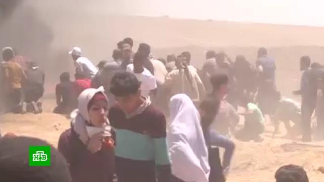 Число погибших на границе Палестины и Израиля возросло до 63