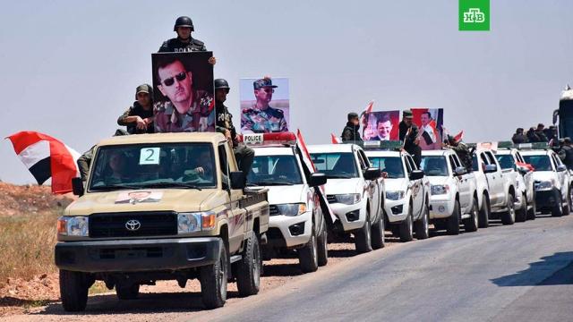 Сирийская армия взяла под контроль дороги, соединяющие Дамаск, Алеппо и Хомс