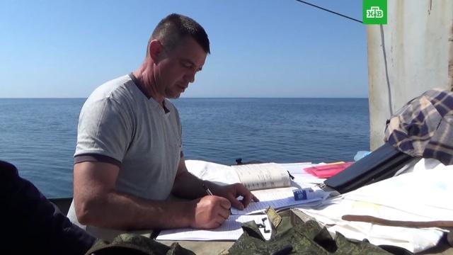 Арестован капитан задержанного в Крыму украинского судна