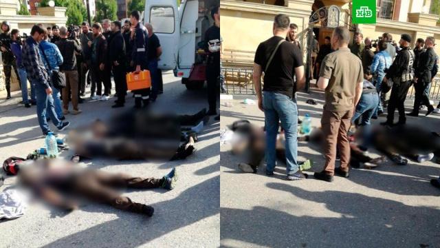 Источник сообщил о возможном пятом участнике нападения на церковь в Грозном
